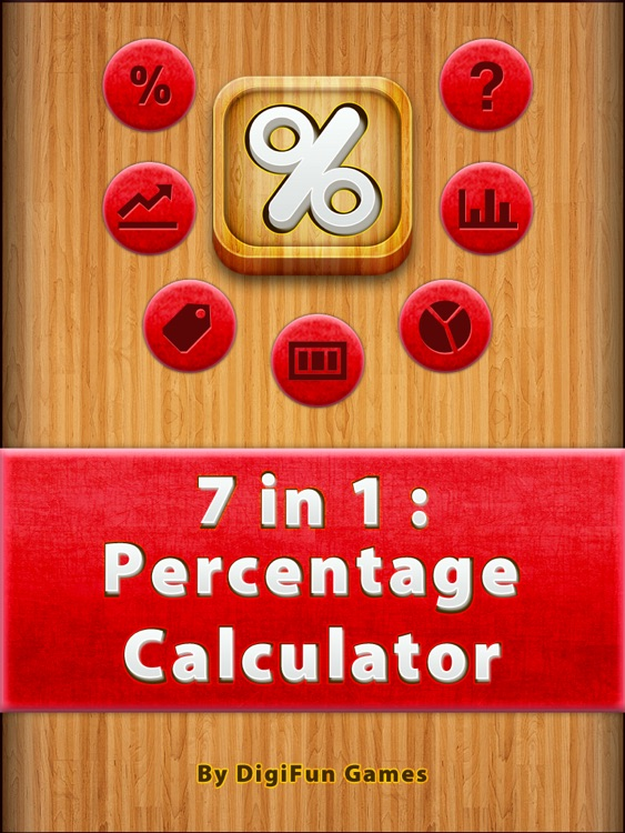 7 in 1 : Percentage Calc HD
