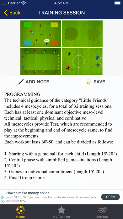 Practical Soccer School screenshot three