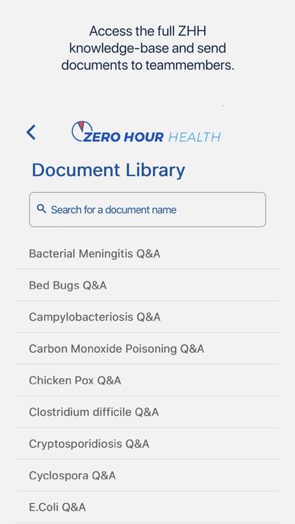 ZHH Crisis Prevention Response screenshot-4
