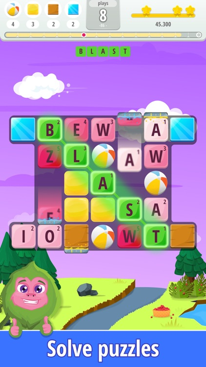Letters Blast - Word Puzzle
