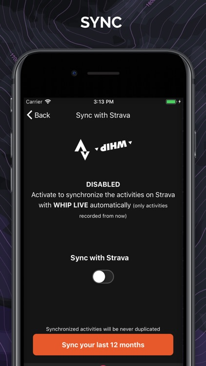 WHIP LIVE MTB & Moto tracker screenshot-9