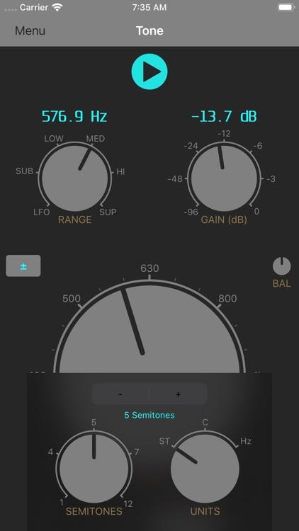 Audio Signal Generator screenshot-5
