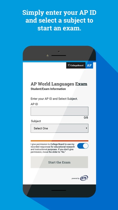 AP World Languages Exam App screenshot 1