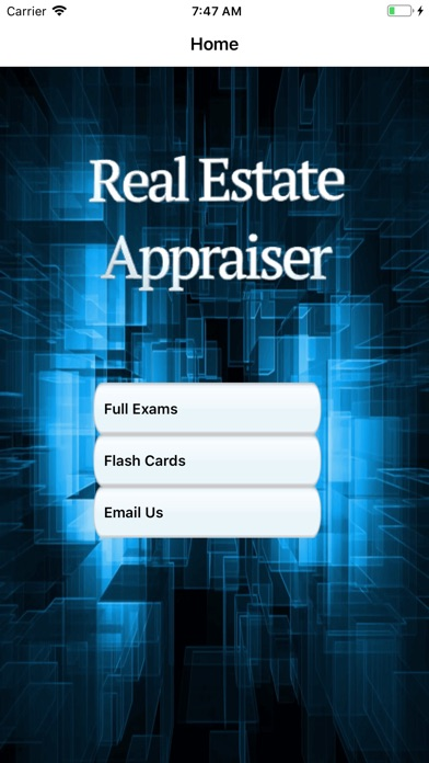 Real Estate Appraiser Exam screenshot 1