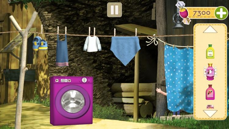 Masha and the Bear Clean House screenshot-5