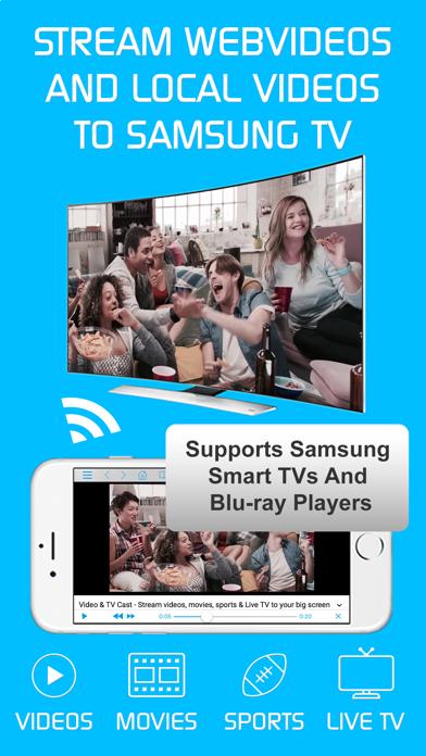 تحميل Video & TV Cast + Samsung TV للكمبيوتر