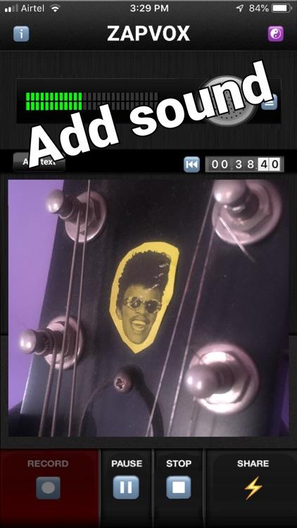 Zapvox Recorder + Slideshows screenshot-6