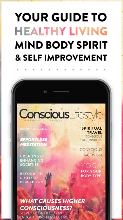 Conscious Lifestyle Magazine screenshot-0