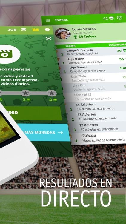 QUIFA -Liga 1X2 Fútbol En Vivo screenshot-3