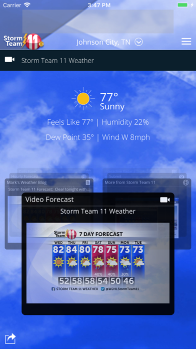 Wjhl Weather App review screenshots