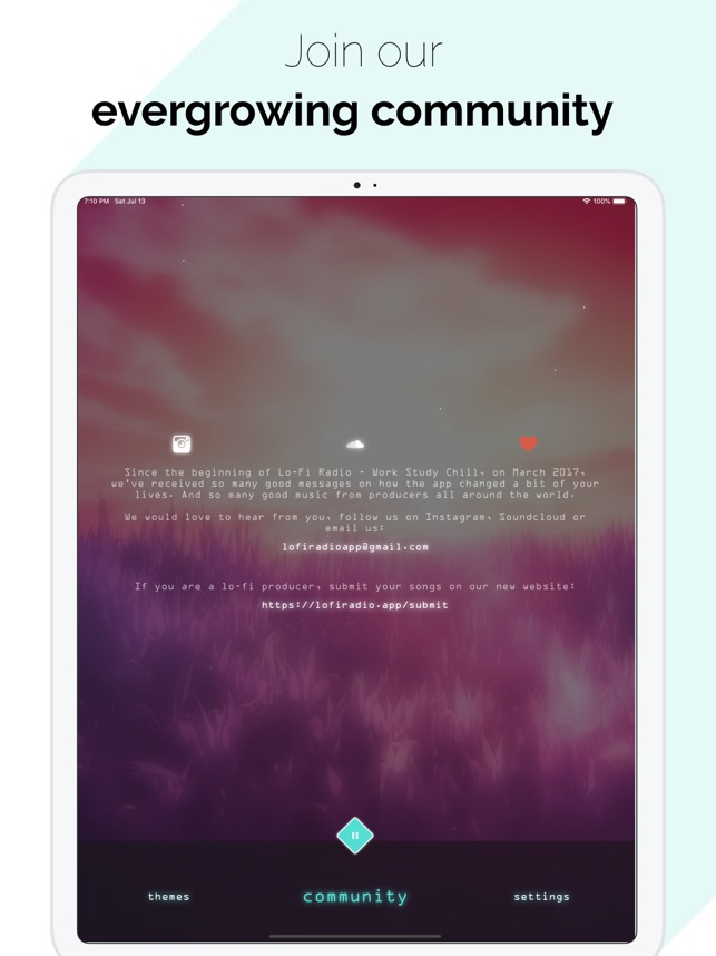 Lo-Fi Radio: Work,Study,Chill on the App Store