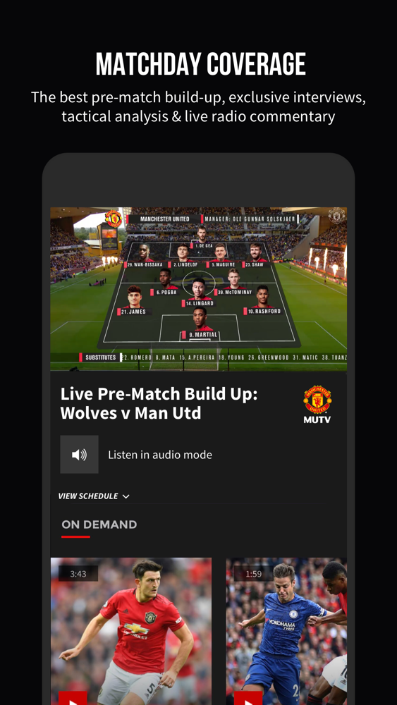 Mutv Manchester United Tv App For Iphone Free Download