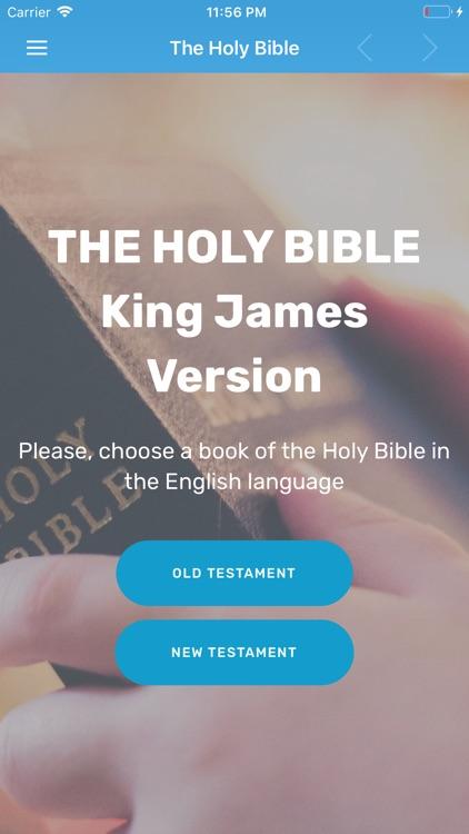 King James Version Bible : KJV