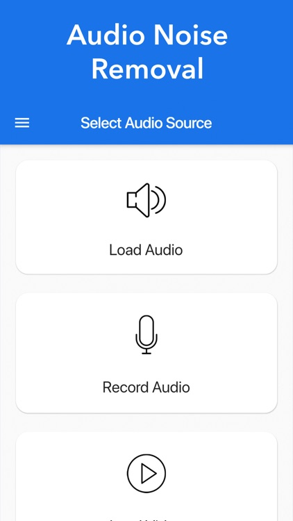 Audio Noise Removal