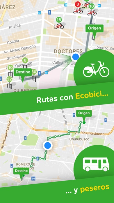 Screenshot for Citymapper - CDMX in Argentina App Store