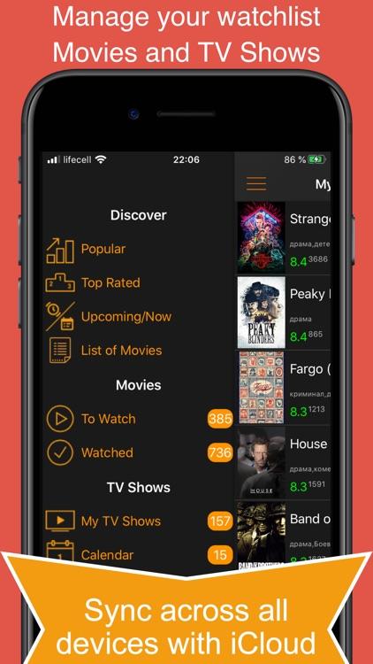 My Movies & TV Shows Watchlist