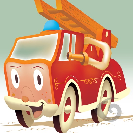 Flick The Little Fire Engine iOS App