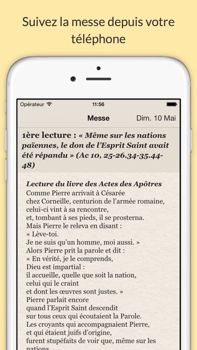 Screenshot #2 pour Liturgie