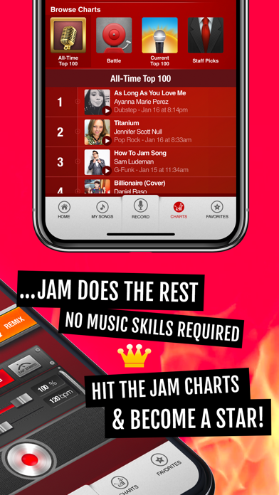 Jam: Instant Song Creator screenshot two