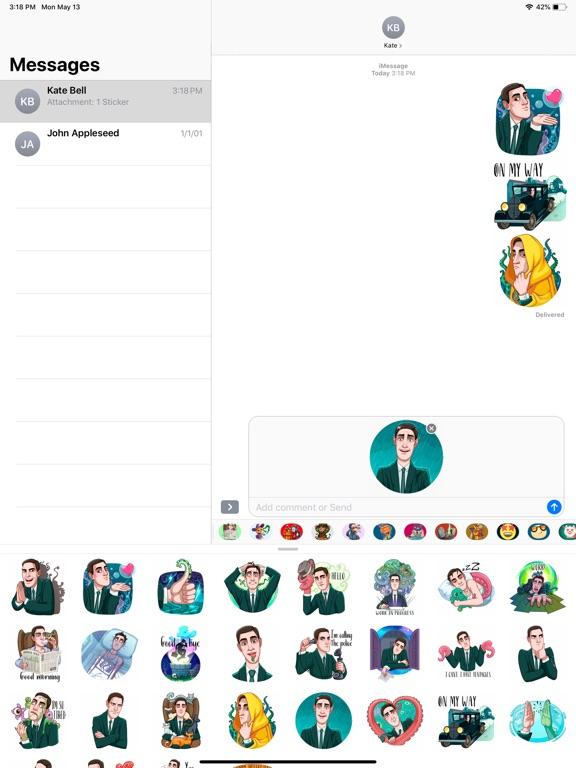 HP Lovecraft Halloween Sticker screenshot 5