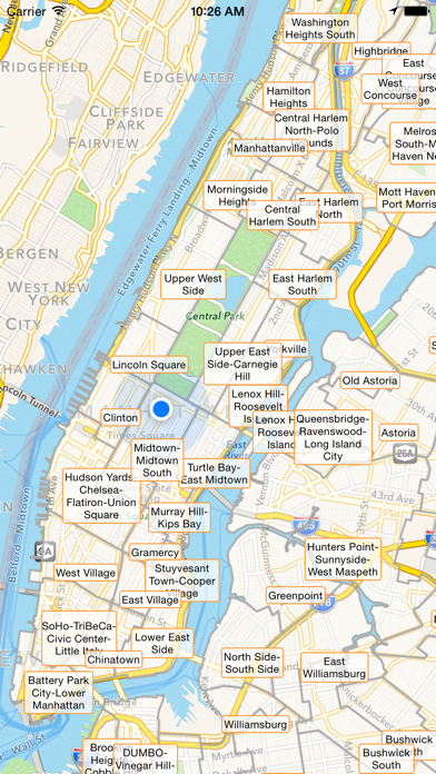NYC Tourist Map screenshot two