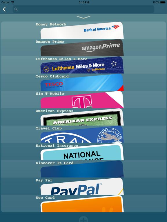 My Cards Pro - Wallet Screenshots