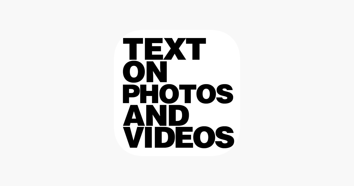 Text On Photo s & Font Edit or on the App Store