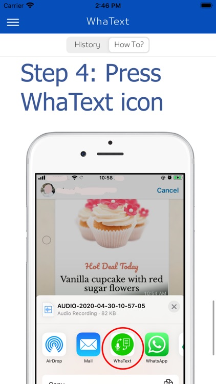 WhaText- Voice to Text on Chat screenshot-4