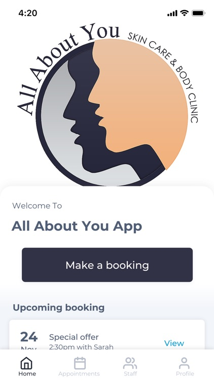 All About You App