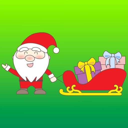 Jolly Ol Santa Stickers