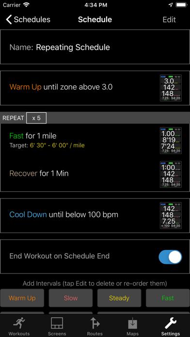 Screenshot for WorkOutDoors in Canada App Store