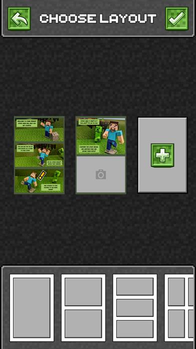 Comic Maker for Minecraft screenshot 5