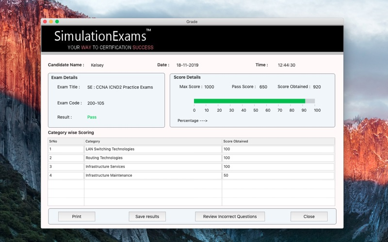 SE: CCNA ICND2 Practice Exams for Mac