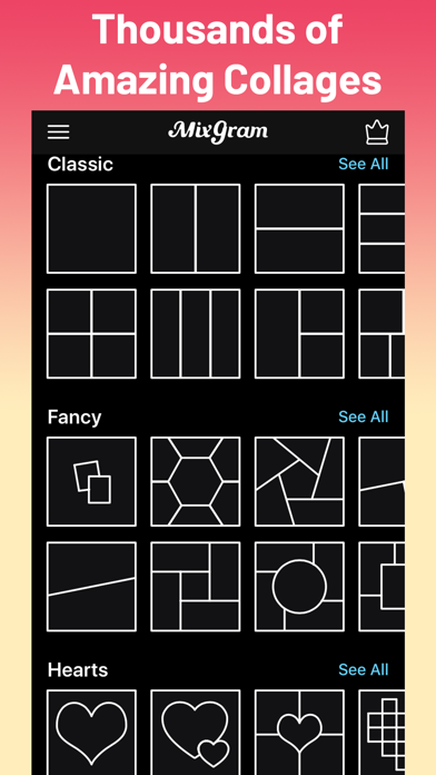 Collage Maker - Mixgram Screenshot