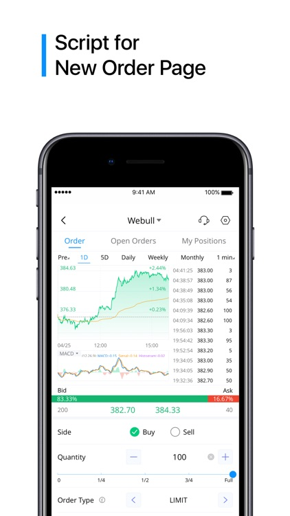 Webull: Trade. Save. Invest. screenshot-4