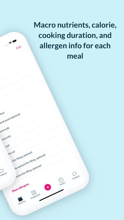 Foodjo meal plan assistant screenshot-6