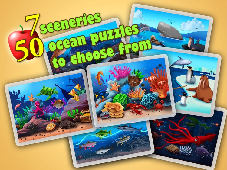 Ocean Jigsaw Puzzle 123 iPad screenshot-4