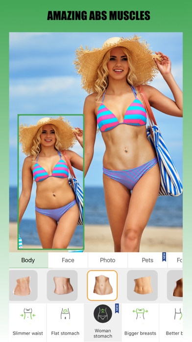 Retouch Me: Body & Face Editor Screenshot
