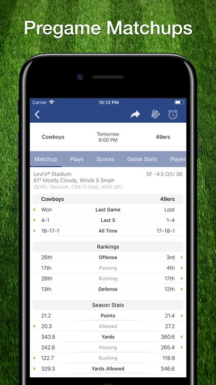 Scores App: NFL Football 2019 screenshot-7