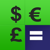 Currency Converter - Convert Foreign Money Exchange Rates for Currencies from USD Dollar into EUR Euro or GBP Pound icon