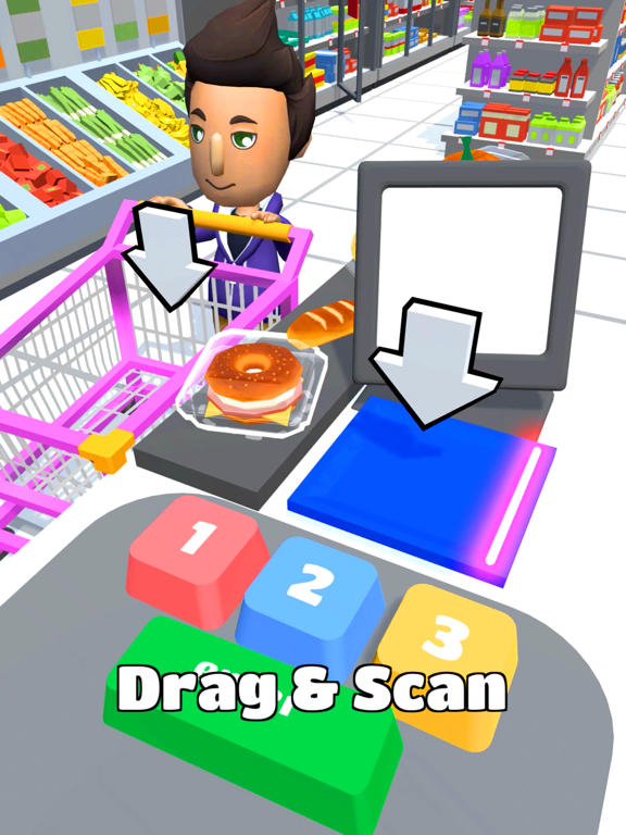 iPad Image of Hypermarket 3D