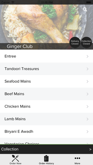Ginger Club screenshot 2