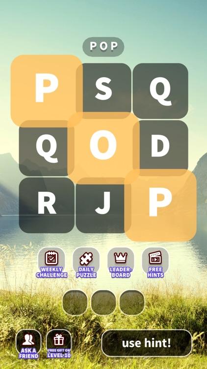 WordWhizzle Pop - word search screenshot-4