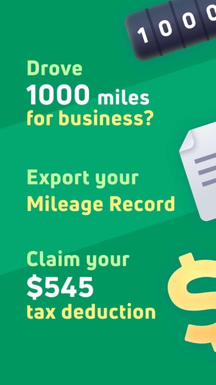 MileBug - Mileage Tracker Log screenshot-0