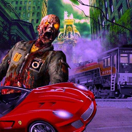 Zombie Hunter Car Racing