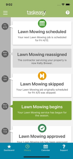 TaskEasy Yard Care on the App Store