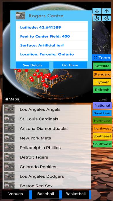 3D Sports Stadiums Lite screenshot 10