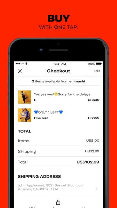 Screenshot for Depop - Buy and sell fashion in Israel App Store