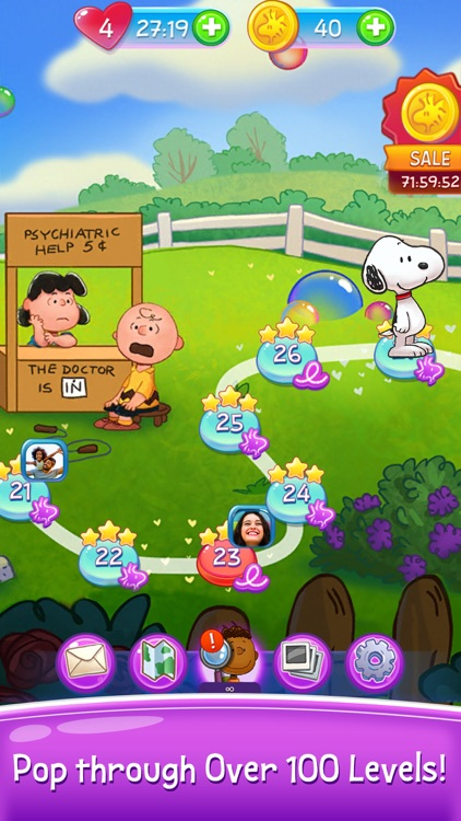 Bubble Shooter: Snoopy POP! screenshot-3