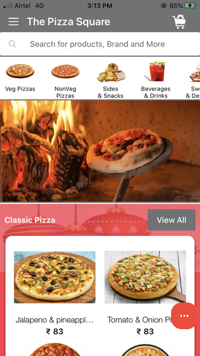The Pizza Square screenshot 1